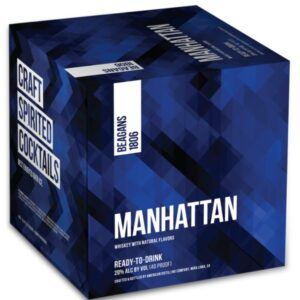 Beagans 1806 Manhattan Cocktail 4 Pack