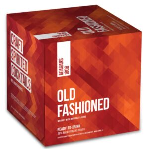 Beagans 1806 Old Fashioned Cocktail 4 Pack