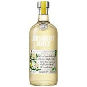 Absolut Juice Pear & Elderflower Vodka 1L