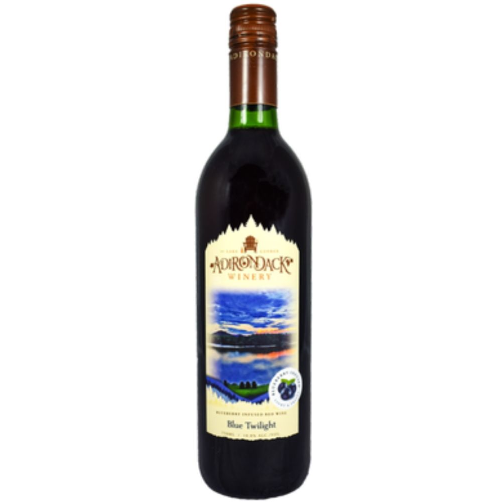 Adirondack Winery Blue Twilight Blueberry Infused Wine 750mL