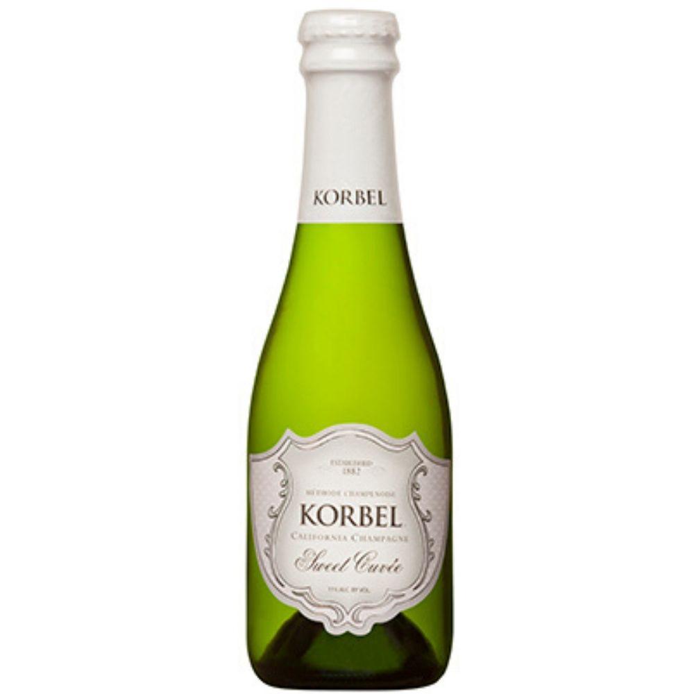 Korbel Sweet Cuvée Champagne 187mL