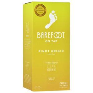 Barefoot On Tap Pinot Grigio Box 3L