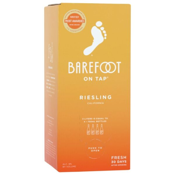 Barefoot On Tap Riesling Box 3L