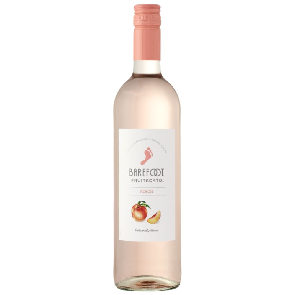 Barefoot Fruitscato Peach 750mL