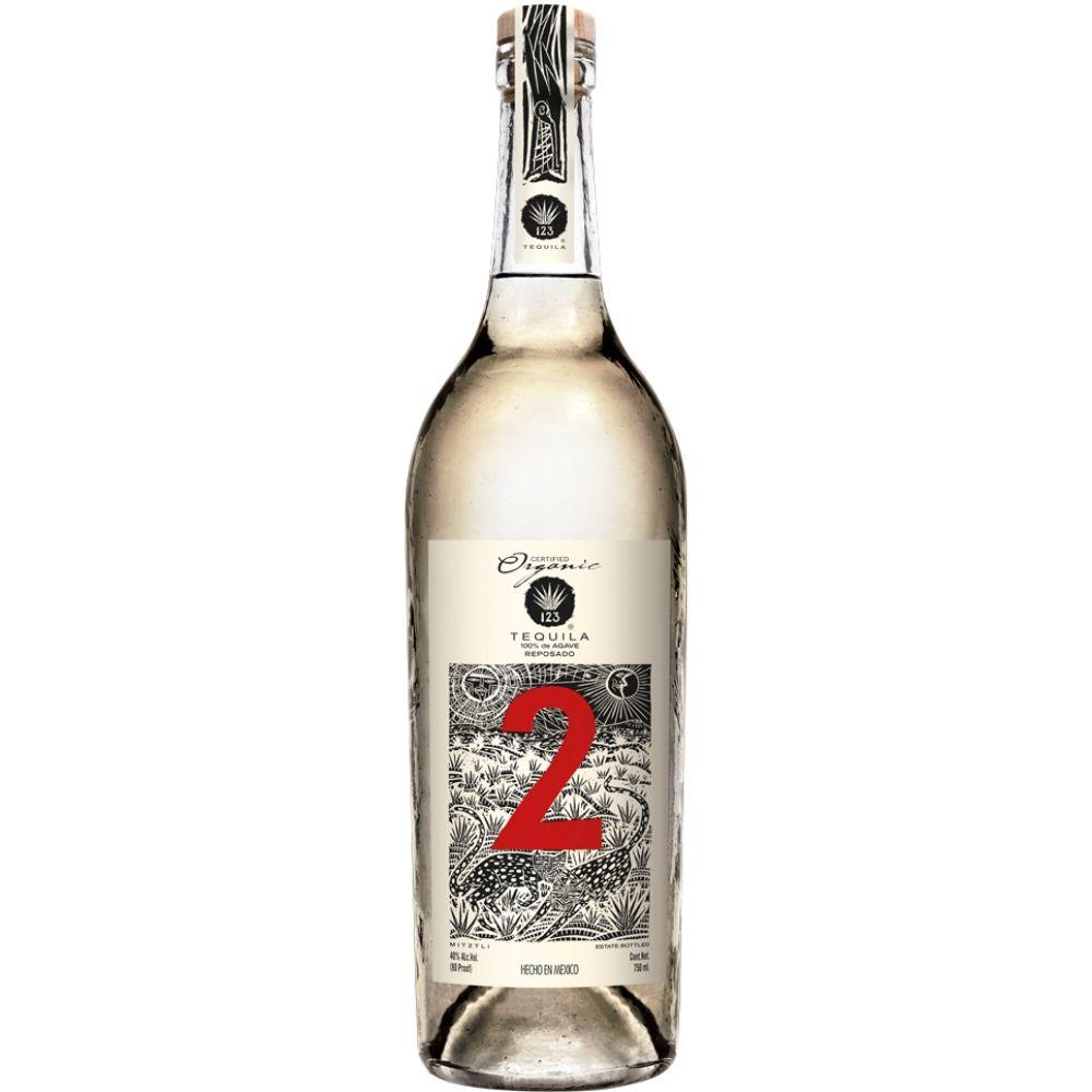 123 Organic Tequila Reposado 750mL