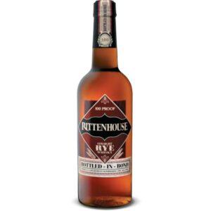 Rittenhouse Bottled In Bond Straight Rye Whisky 750mL