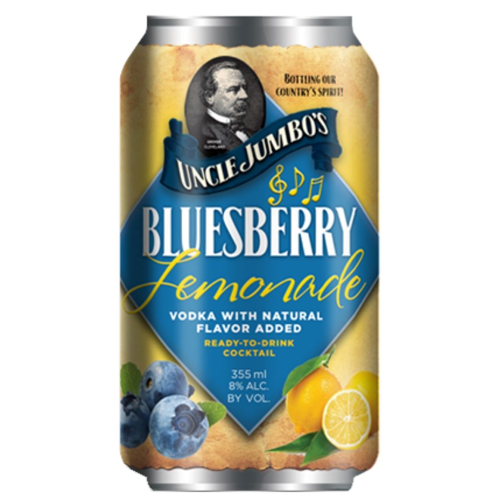 Uncle Jumbos Bluesberry Lemonade Cocktail 355mL