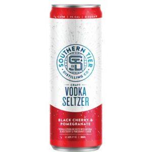 Southern Tier Black Cherry & Pomegranate Craft Vodka Seltzer 4 Pack