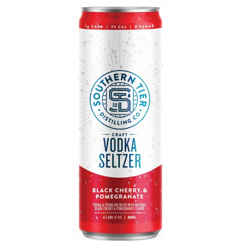 Southern Tier Black Cherry & Pomegranate Craft Vodka Seltzer 4 Pack