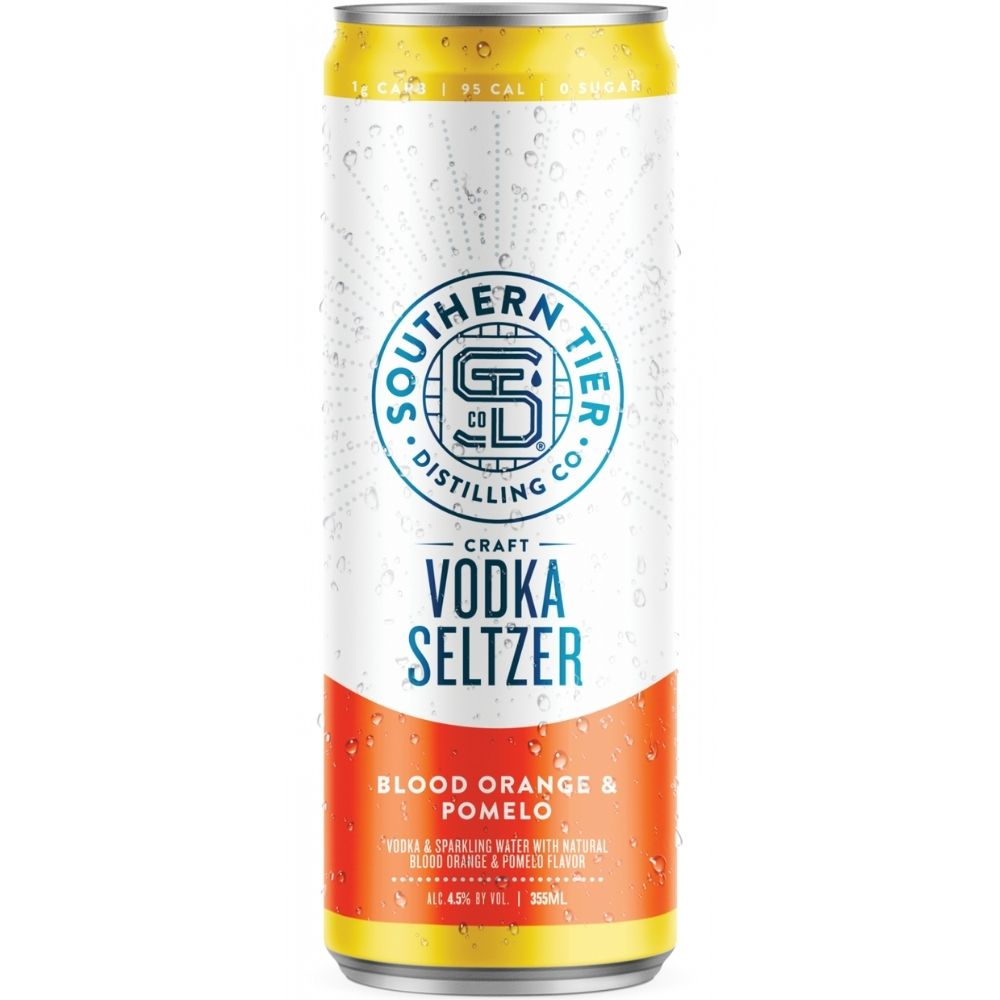 Southern Tier Blood Orange & Pomelo Craft Vodka Seltzer 4 Pack