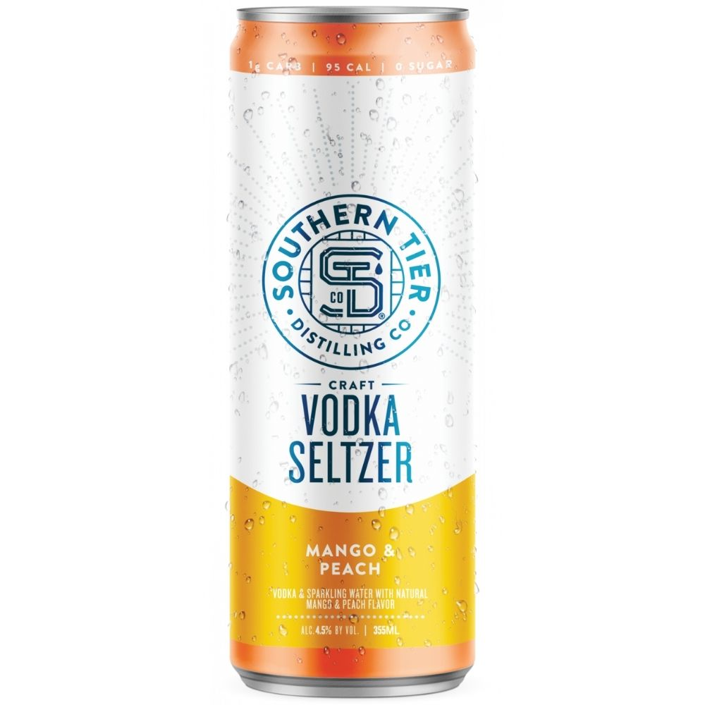 Southern Tier Mango & Peach Craft Vodka Seltzer 4 Pack