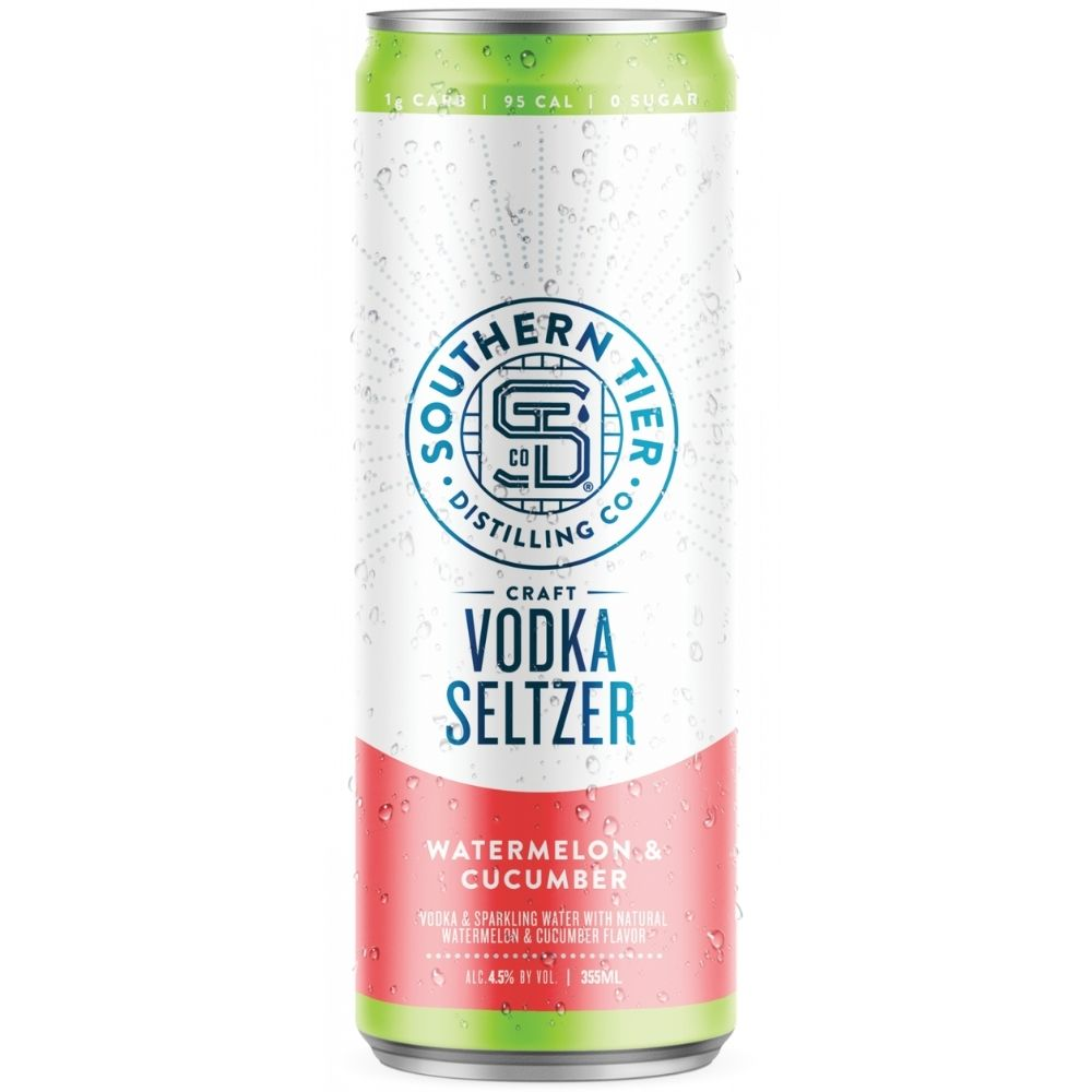 Southern Tier Watermelon & Cucumber Craft Vodka Seltzer 4 Pack