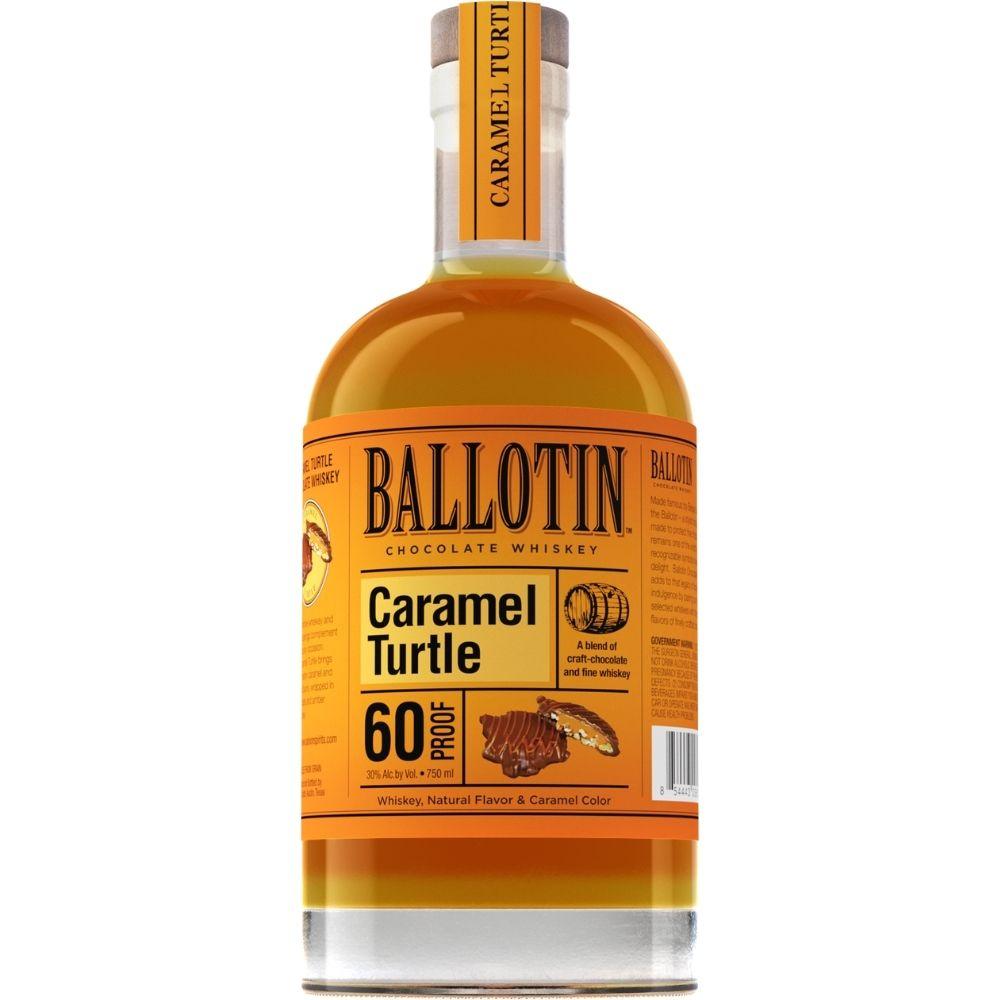 Ballotin Chocolate Caramel Turtle Whiskey 750mL