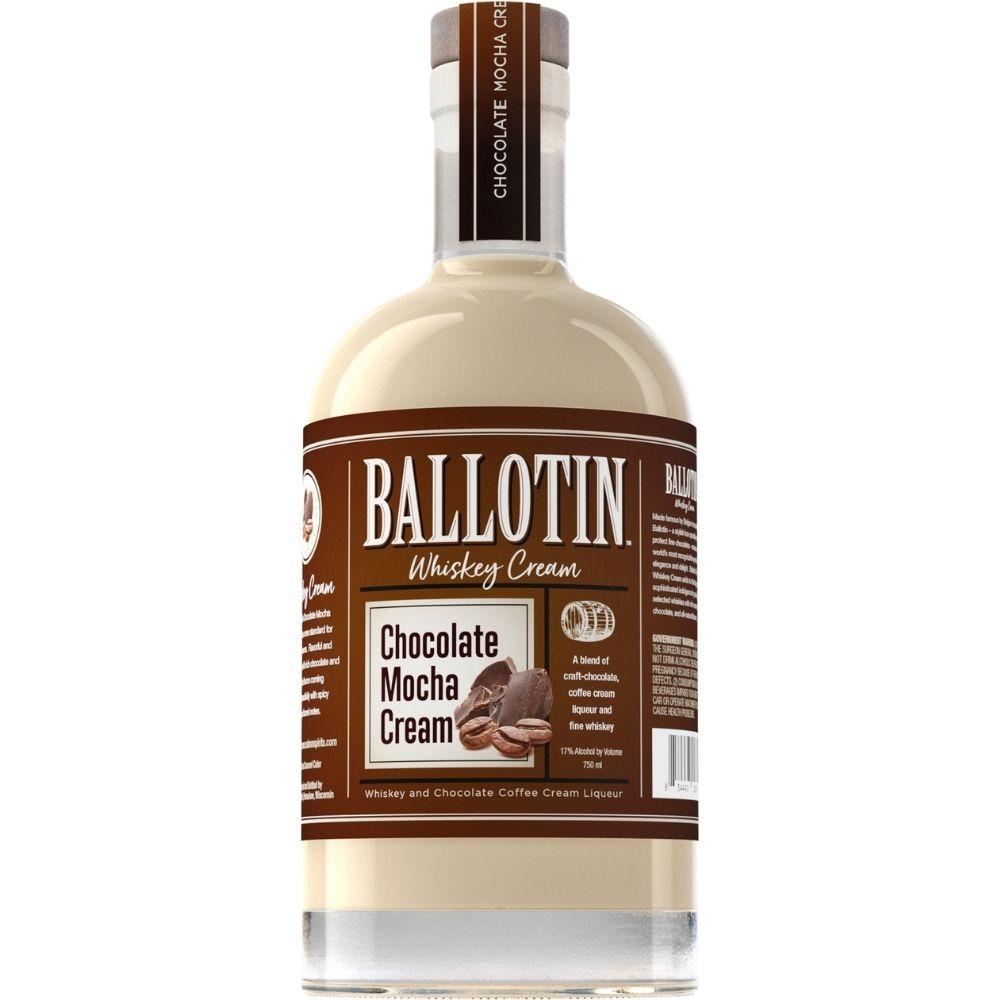 Ballotin Chocolate Mocha Whiskey Cream 750mL