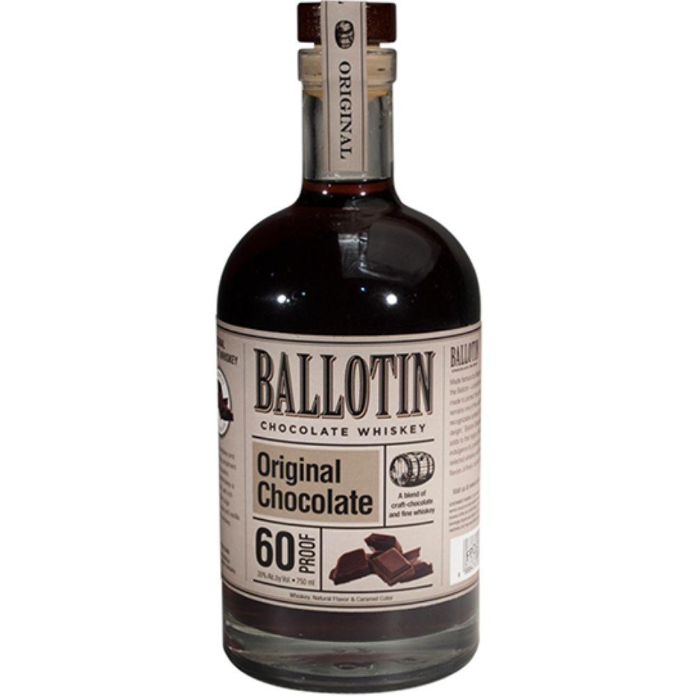 Ballotin Original Chocolate Whiskey 750mL