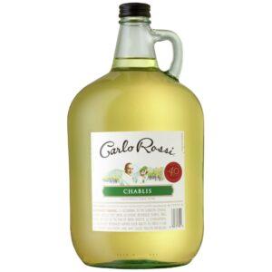 Carlo Rossi Chablis Wine Jug 4L
