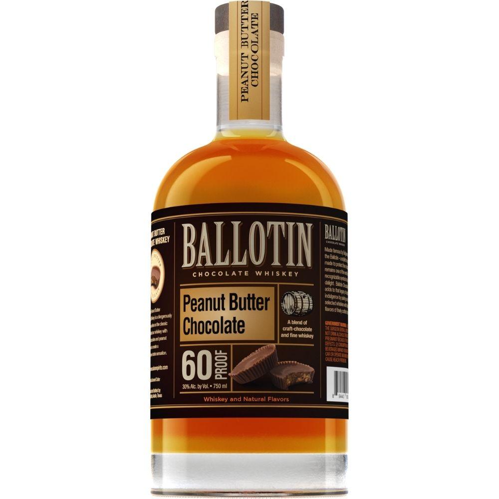 Ballotin Chocolate Peanut Butter Whiskey 750mL