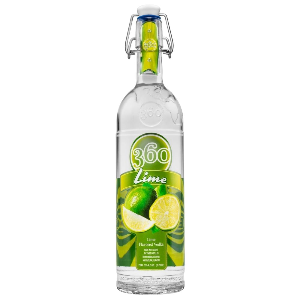 360 Lime Vodka 1L
