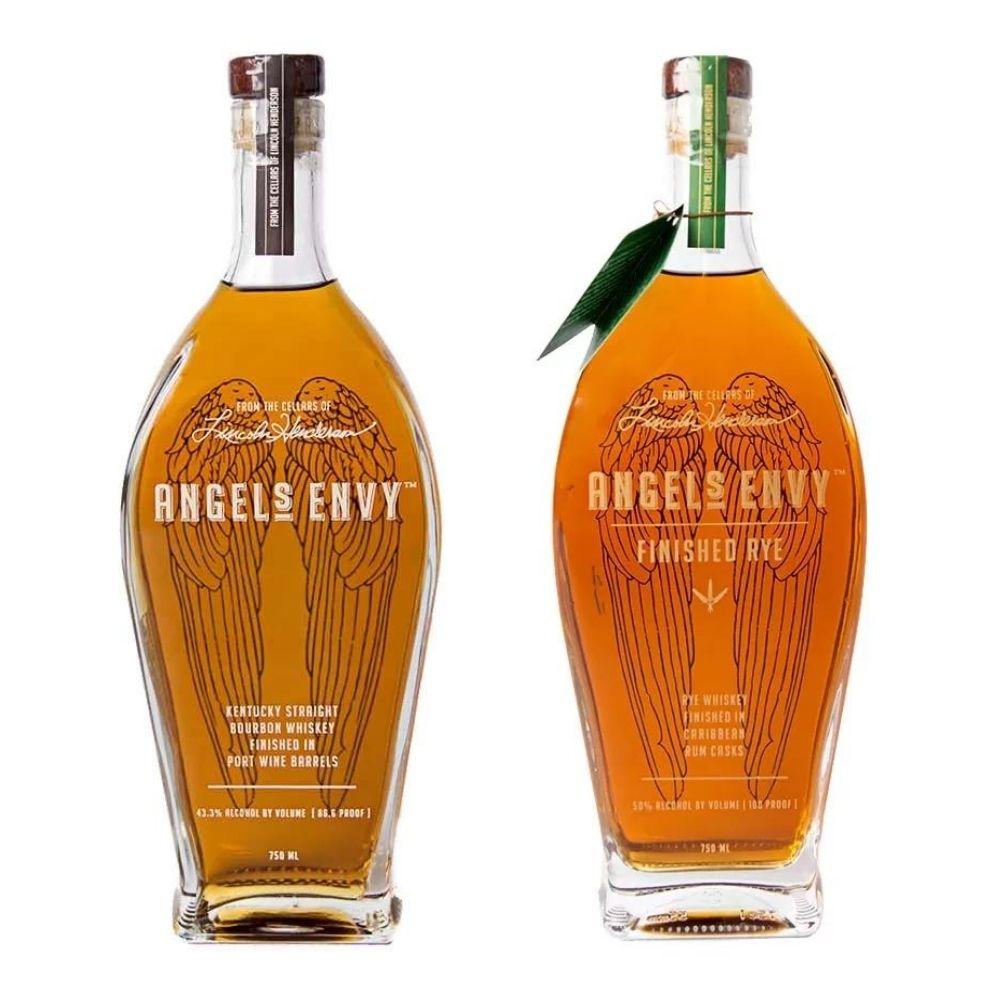 Angels Envy Bourbon & Rye 750ml Bundle