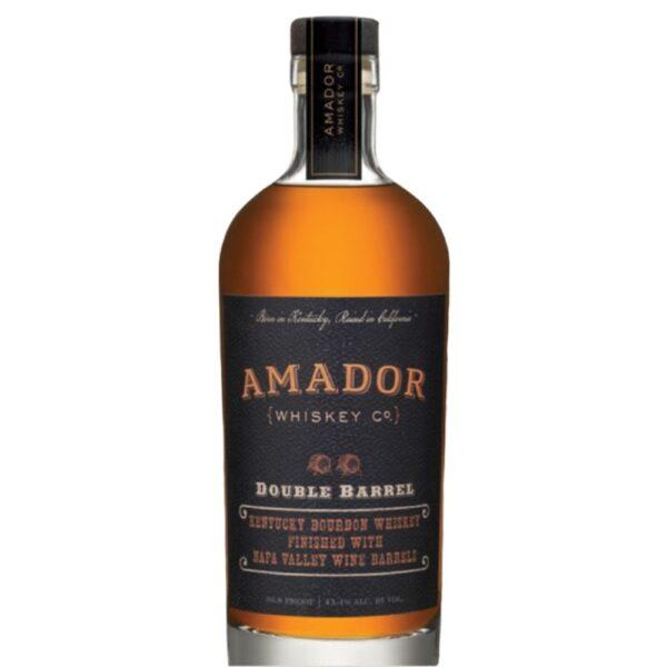 Amador Whiskey Co. Double Barrel Bourbon Whiskey 750mL