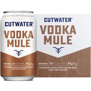 Cutwater Fugu Vodka Mule 4 Pack 355mL