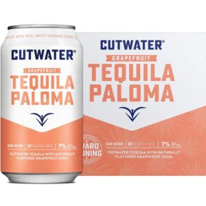Cutwater Spirits Grapefruit Paloma Cocktail 4 Pack 355mL