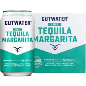 Cutwater Spirits Lime Margarita 4 Pack 355mL