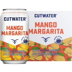 Cutwater Spirits Mango Margarita 4 Pack 355mL