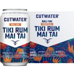 Cutwater Spirits Tiki Rum Mai Tai 4 Pack 355mL