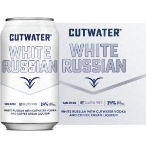 Cutwater Spirits White Russian 4 Pack 355mL