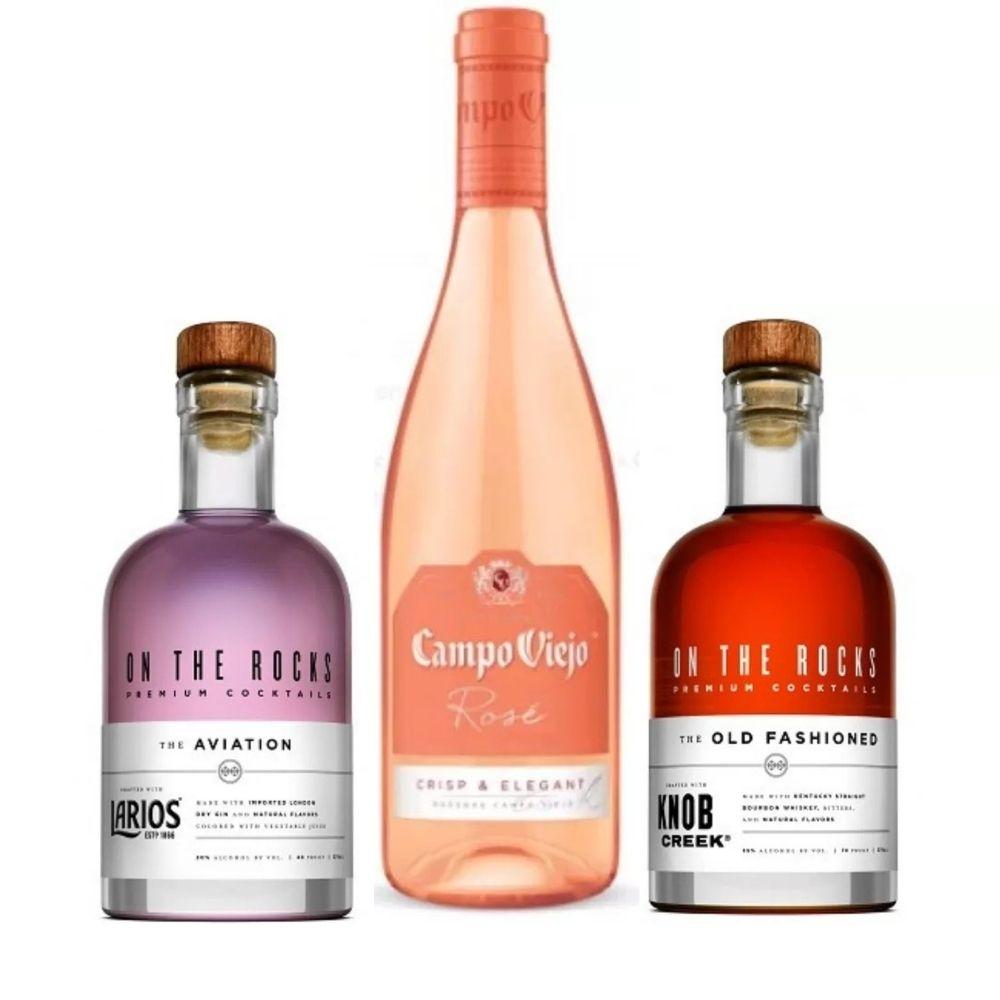 Valentine's Wine & Cocktail Kit One