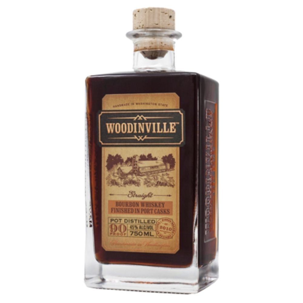 Woodinville Port Finished Straight Bourbon Whiskey 750mL