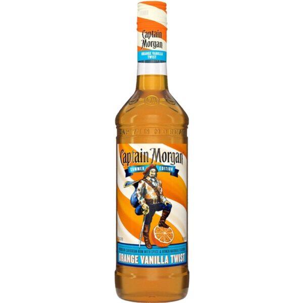 Captain Morgan Summer Edition Orange Vanilla Twist Rum 750mL