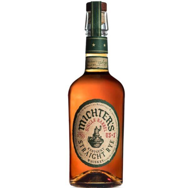 Michters Single Barrel Kentucky Straight Rye Whiskey 750mL