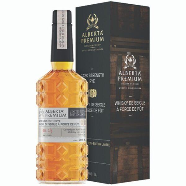 Alberta Premium Cask Strength Rye Whiskey 750mL