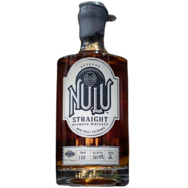 Nulu Reserve Small Batch Straight Bourbon Whiskey 750mL