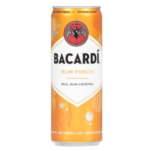 Bacardi Rum Punch Canned Cocktail 4 Pack 355mL