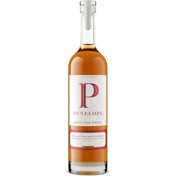 Penelope Limited Release Rosé Cask Finished Straight Bourbon Whiskey 750mL