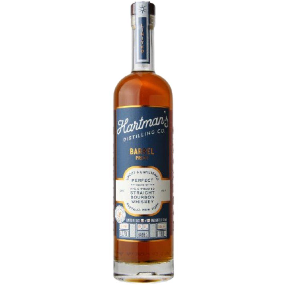 Hartman's Distilling Co. Single Barrel Store Pick Barrel Proof Bourbon Whiskey 750mL
