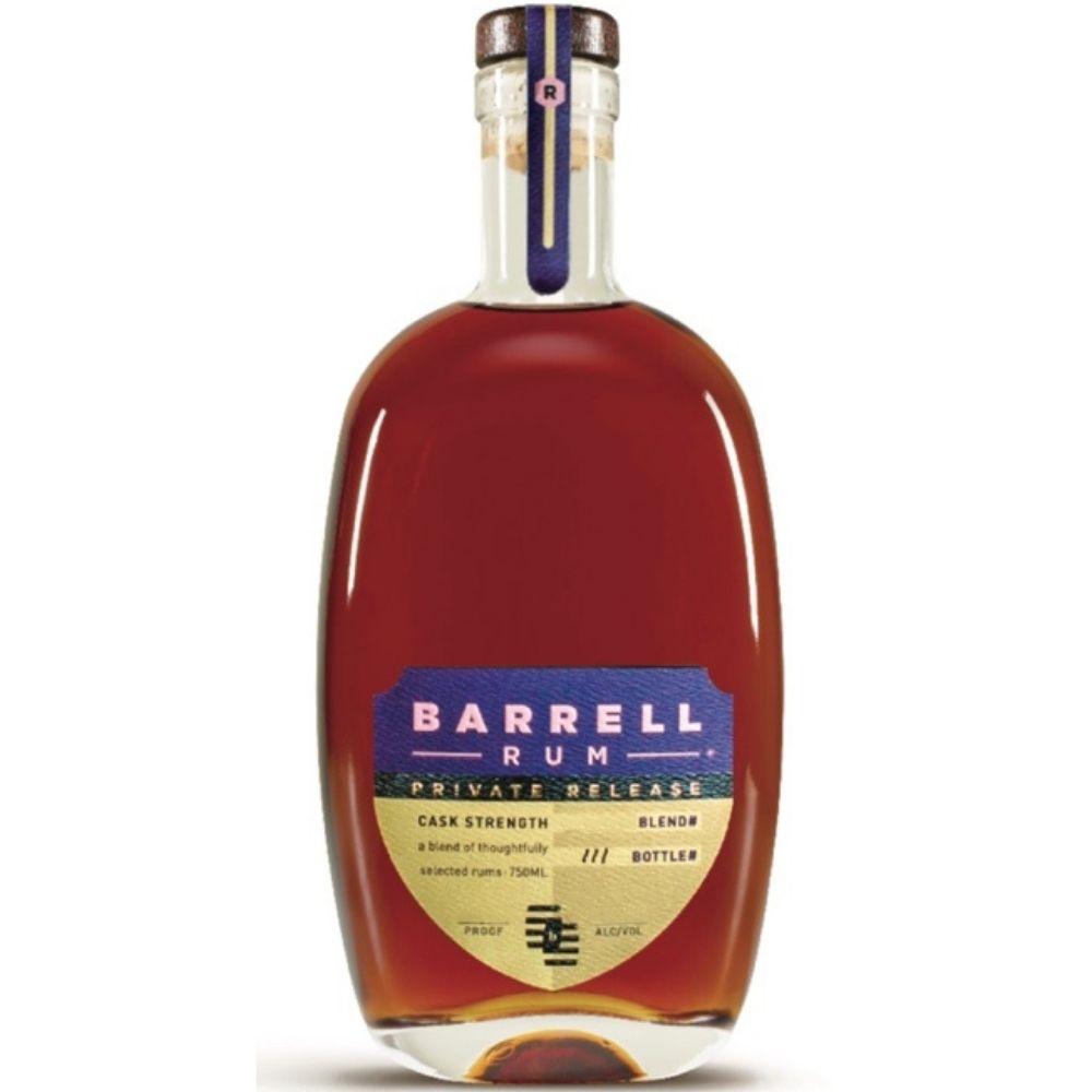 Barrel Craft Spirits Private Release Rum Batch J807 Cask Strength 750mL